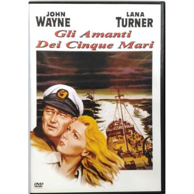 Dvd Gli Amanti dei cinque mari con John Wayne 1955 Usato