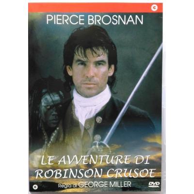 Dvd Le avventure di Robinson Crusoe con Pierce Brosnan 1997 Usato