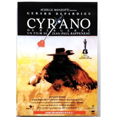 Dvd Cyrano de Bergerac con Gérard Depardieu 1990 Usato