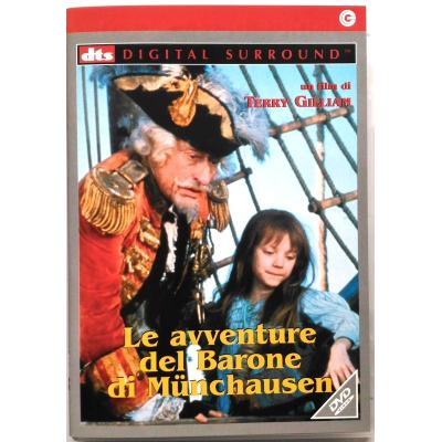 Dvd Le Avventure del Barone di Munchausen di Terry Gilliam 1988 Usato