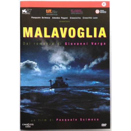 Dvd Malavoglia di Pasquale Scimeca 2010 Usato