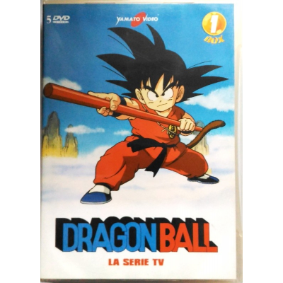 Dvd Dragon Ball - La Serie TV - Box 01 (cofanetto 5 dischi) Yamato video Usato