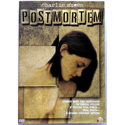 Dvd Post Mortem - Pulp video con Charlie Sheen 1997 Usato