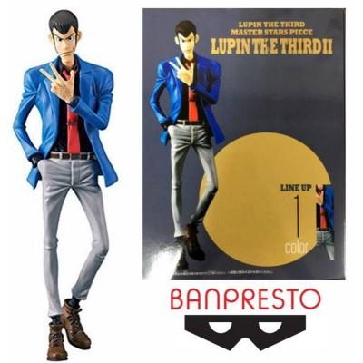 Statua Lupin The Third II Master Stars Piece giacca blu 18 cm Figure Banpresto