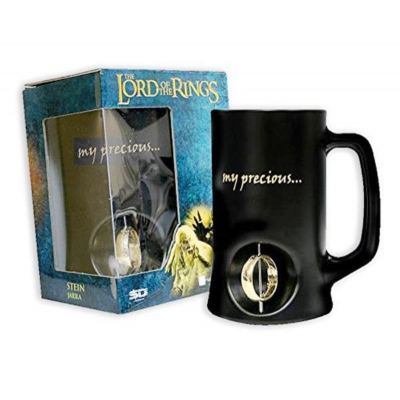 Boccale birra Lord Of The Rings 3D Rotating anello One ring Beer
