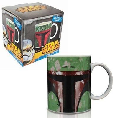 Tazza in ceramica Star Wars Boba Fett Mug ufficiale Disney by Paladone