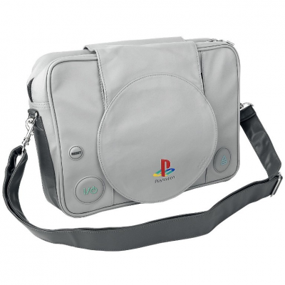 Borsa a tracolla Playstation One PS1 messenger bag Sony Bioworld