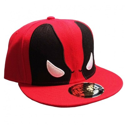 Cappello Deadpool - Angry Eyes Red Cap snapback Cap Hat Marvel