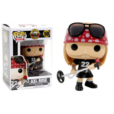 Guns N' Roses Axl Rose Pop! Funko rocks Vinyl figure n° 50