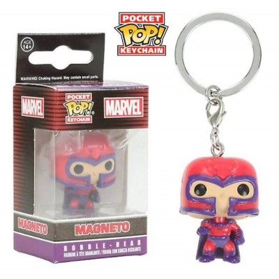 Portachiavi Magneto X-Men Pocket Pop! KeyChain Funko