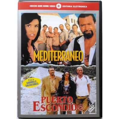 Dvd Mediterraneo + Puerto Escondido di Gabriele Salvatores 1991/92