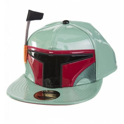 Cappello Star Wars Boba Fett with antenna Snapback Cap Hat Bioworld