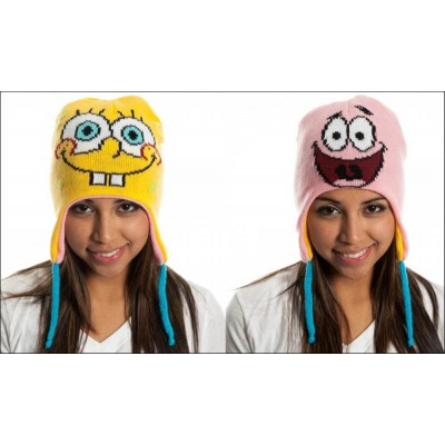 Berretta Spongebob Squarepants & Patrick Reversible Laplander Beanie