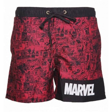 Costume da bagno Red Marvel Storyboard Swimshorts Uomo Bioworld