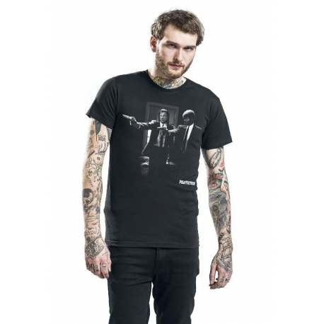 T-shirt Pulp Fiction - Vince & Jules Gun Posing maglia Uomo ufficiale