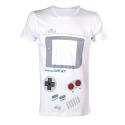 T-shirt Nintendo Game-Boy console costume man