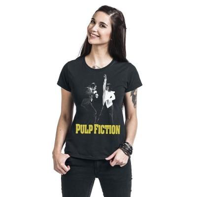 T-shirt Pulp Fiction - Mia & Vince Dance maglia donna ufficiale