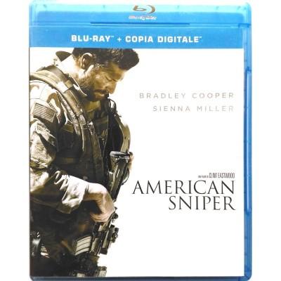 Blu-Ray American Sniper di Clint Eastwood 2014 Usato