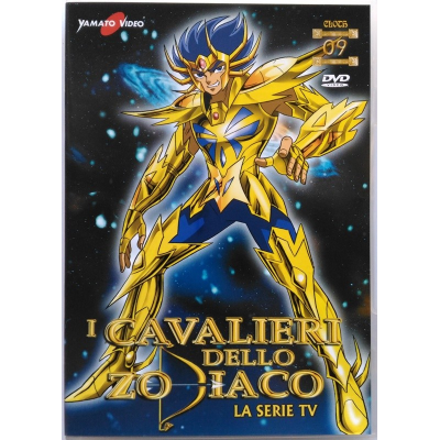 Dvd I Cavalieri dello Zodiaco - La serie TV - Volume 09 (ep. 49/54)