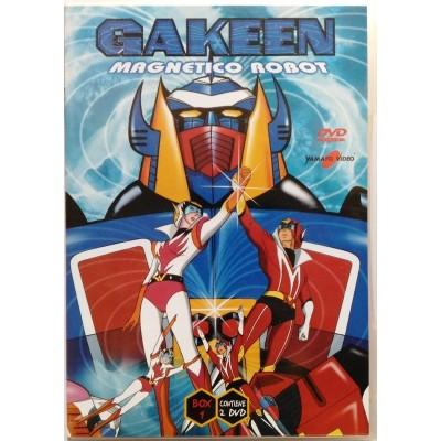 Dvd Gakeen Magnetico Robot - Box 1 (2 dischi) Yamato video Usato