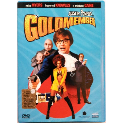 Dvd Austin Powers in Goldmember con Mike Myers 2002 Usato
