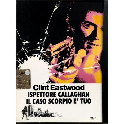 Dvd Ispettore Callaghan il Caso Scorpio è tuo - ed. Snapper 1971 Usato