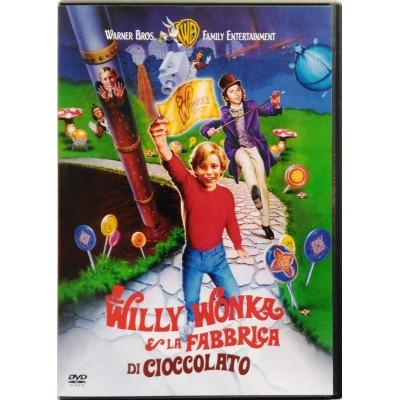Dvd Willy Wonka e la fabbrica di cioccolato con Gene Wilder 1971 Usato