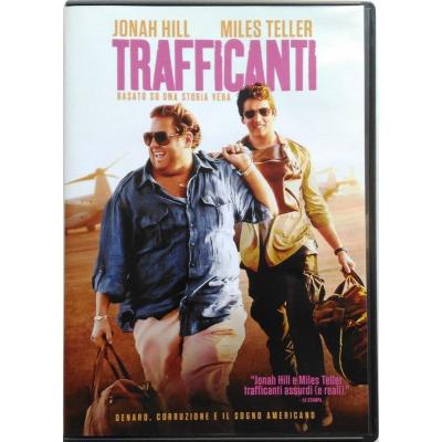 Dvd Trafficanti con Jonah Hill 2016 Usato