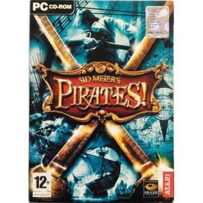 Gioco Pc Sid Meier's Pirates! - Ed. italiana 2 CD slipcase 2004 Usato