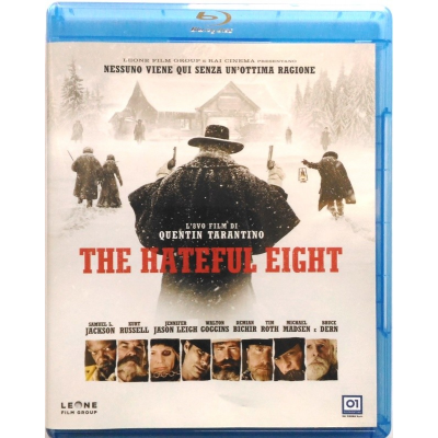 Blu-Ray The Hateful Eight di Quentin Tarantino 2015 Usato