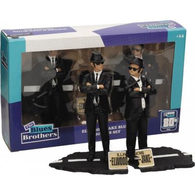 The Blues Brothers Elwood e Jake Box 2 statue figure set Diorama