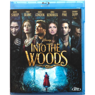 Blu-ray Into the Woods con Meryl Streep 2014 Usato
