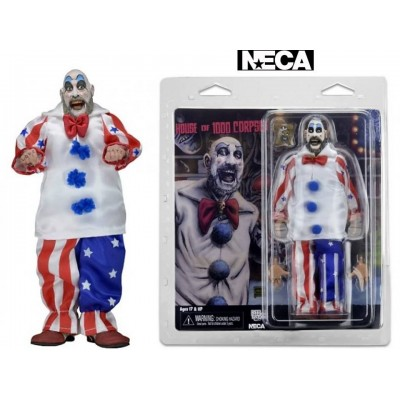 Action figure House of 1000 Corpses Captain Spaulding Clothed Neca