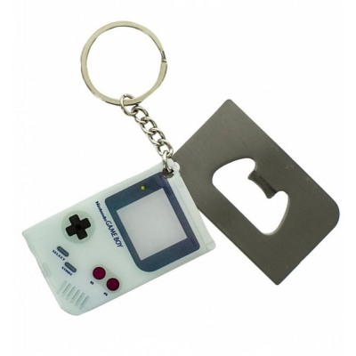 Portachiavi apri-bottiglie Game Boy Nintendo Bottle Opener Keychain