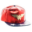 Cappello Wonder Woman Logo snapback PU Cap Hat DC Comics originals