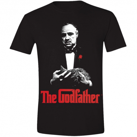 T-shirt The Godfather Poster Print - Il Padrino Don Vito Corleone