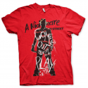 T-shirt Nightmare On Elm Street - Come Out And Play with Freddy Man