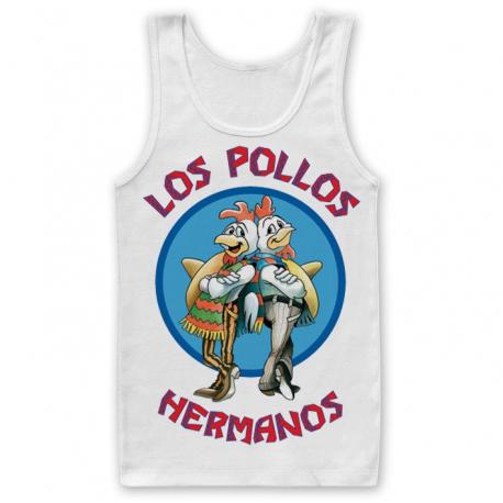 Canottiera Breaking Bad Los Pollos Hermanos Tank Top Uomo