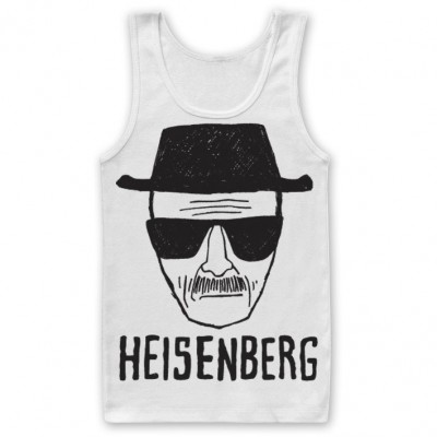 Canottiera Breaking Bad - Heisenberg Sketch Tank Top Uomo ufficiale Hybris