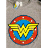 vT-shirt Wonder Woman Distressed Logo superhero maglia Donna Hybris