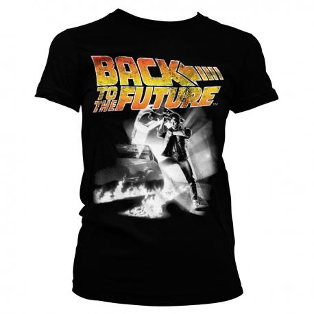 T-shirt Back To The Future Poster maglia donna Ritorno al Futuro