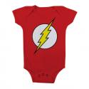 Baby Body bimbo The Flash Logo Infant snapsuit ufficiale DC Comics
