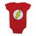 Baby Body The Flash Logo Infant snapsuit DC Comics
