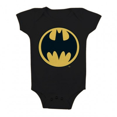 Baby Body bimbo Batman Signal Logo Infant snapsuit ufficiale DC Comics