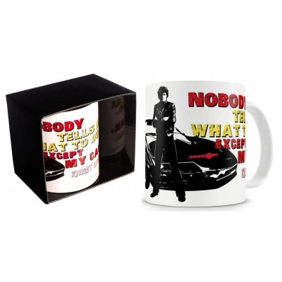 Tazza Knight Rider - Nobody Tells Me what to do except my car Mug