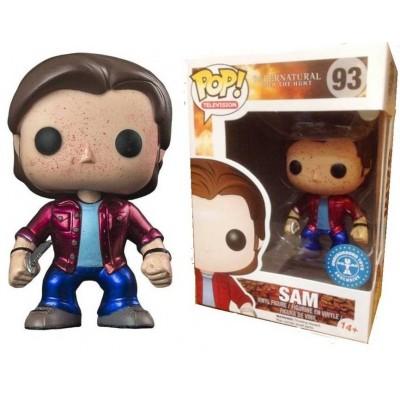 Supernatural Sam Winchester Metallic Blood splatter Pop! Funko
