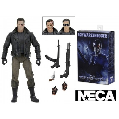 Action figure Terminator T-800 Ultimate Police Station Assault Neca
