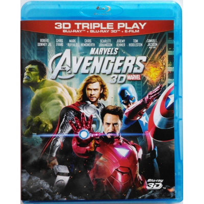Blu-ray Marvel's The Avengers 3D