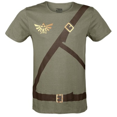 T-Shirt The Legend of Zelda Link belt costume