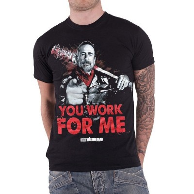 T-shirt The Walking Dead You Work For Me